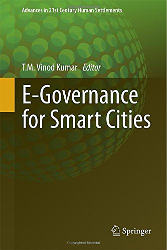 E-Governance for Smart Cities free download
