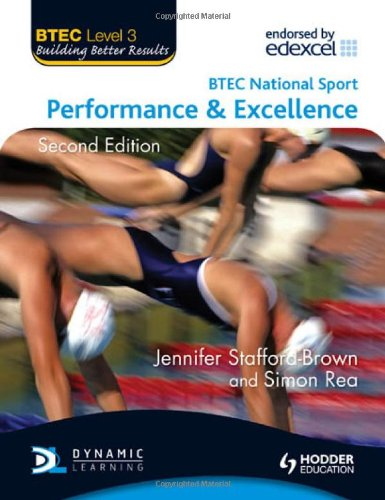 BTEC National Sport: Level 3: Performance and Excellence free download