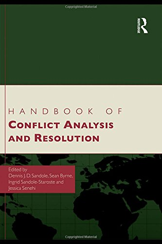 Handbook of Conflict Analysis and Resolution free download
