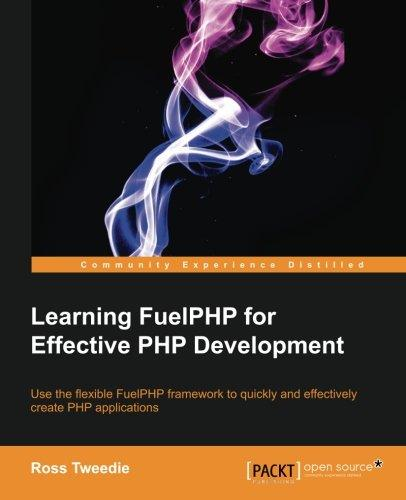 Learning FuelPHP for Effective PHP Development free download
