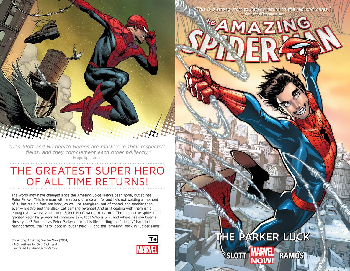 Amazing Spider-Man v01 - The Parker Luck (2014) free download