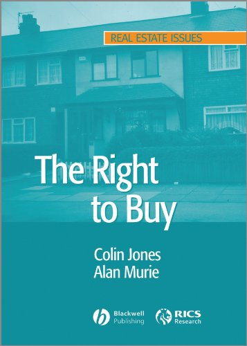 The Right to Buy: Analysis and Evaluation of a Housing Policy (Real Estate Issues) free download