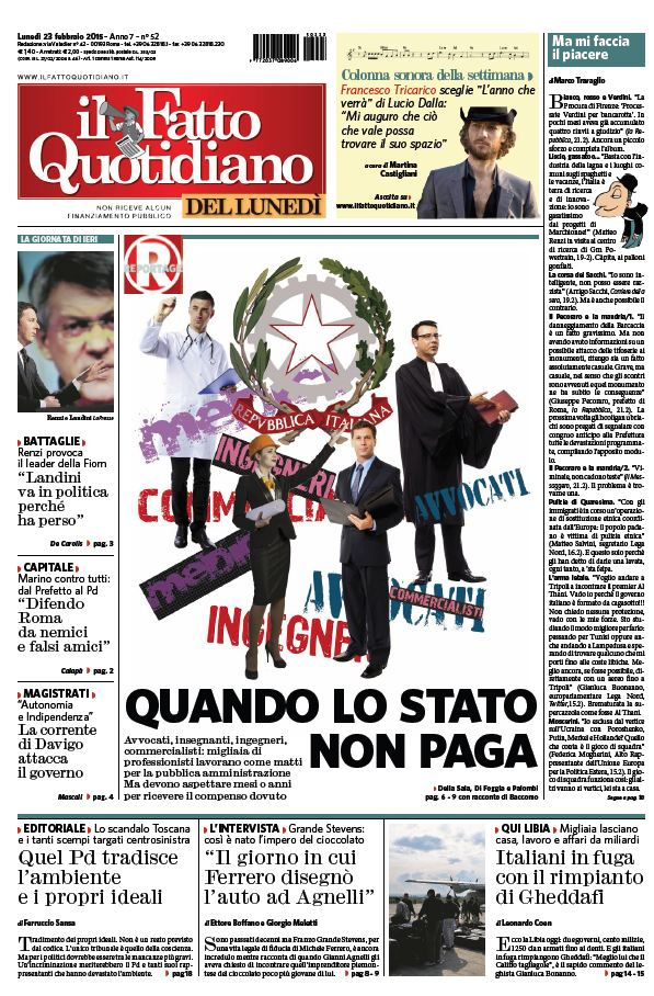 Il Fatto Quotidiano (23-02-15) free download