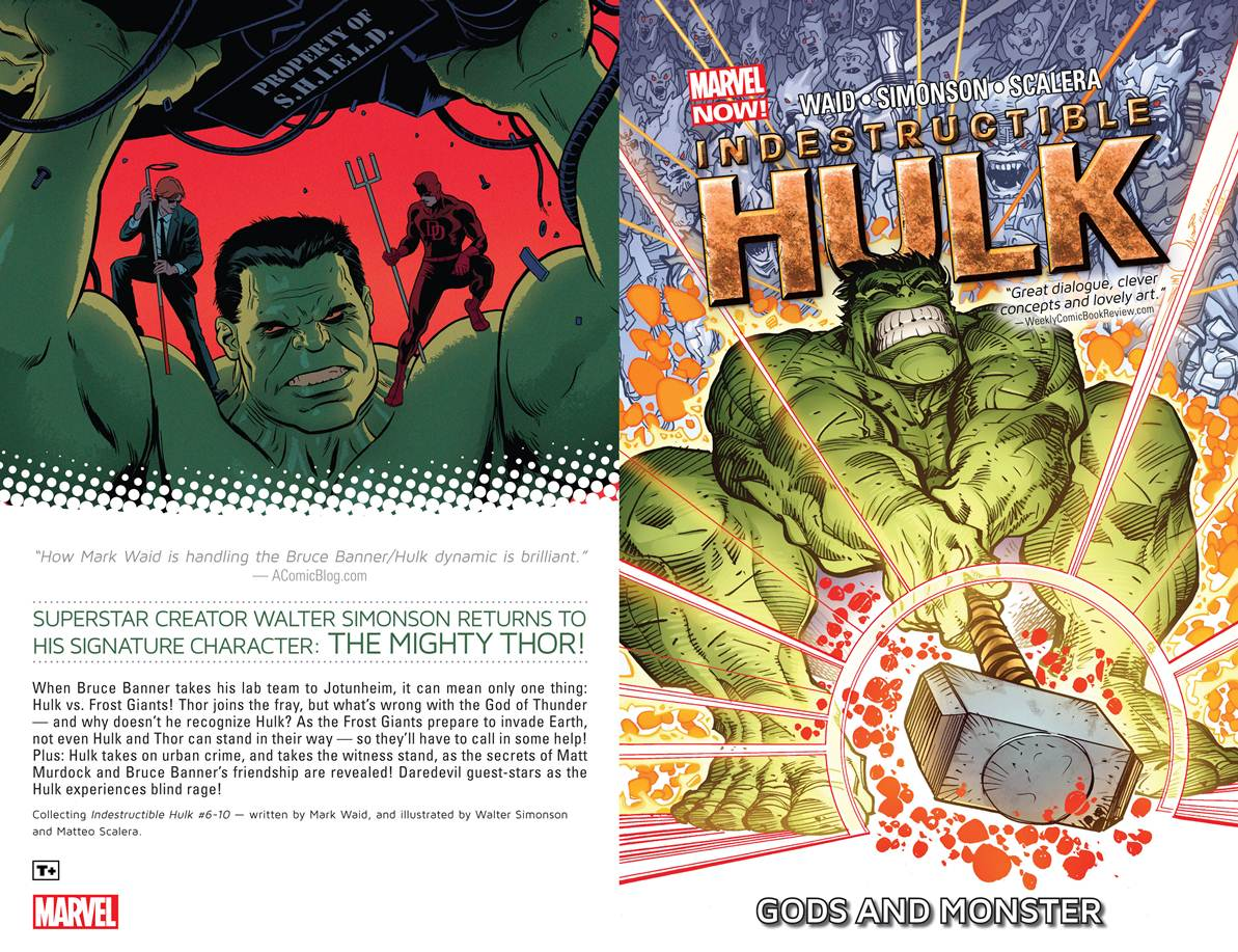 Indestructible Hulk Vol. 2 - Gods And Monster (TPB) (2013) free download