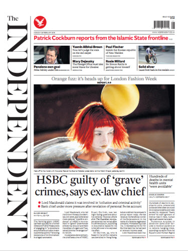 The Independent February 23 2015 free download