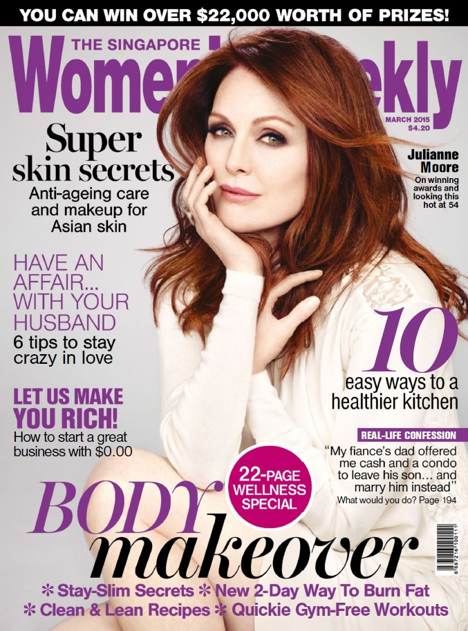The Singapore Women's Weekly - March 2015 free download