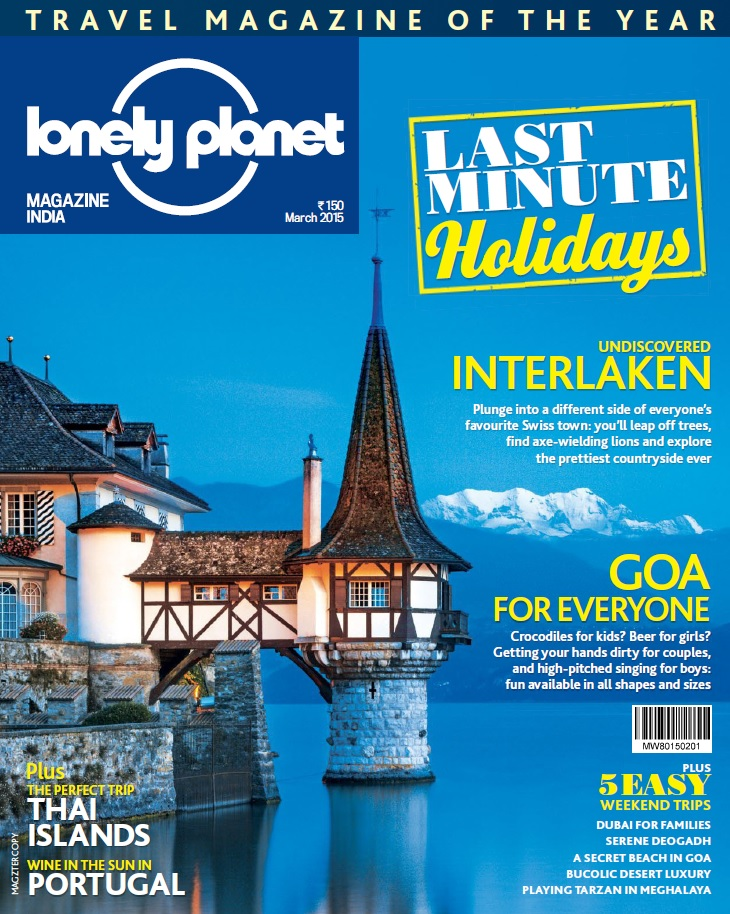 Lonely Planet Magazine India - March 2015 free download