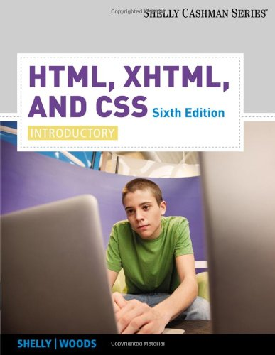 HTML, XHTML, and CSS: Introductory, 6th edition free download