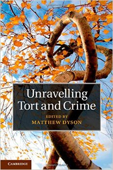 Unravelling Tort and Crime free download
