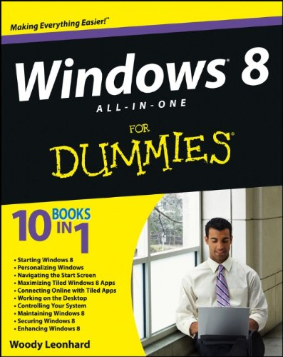 Windows 8 All-in-One For Dummies free download