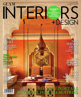 Qatar's Glam Interiors + Design - Issue 3, February 2015 free download