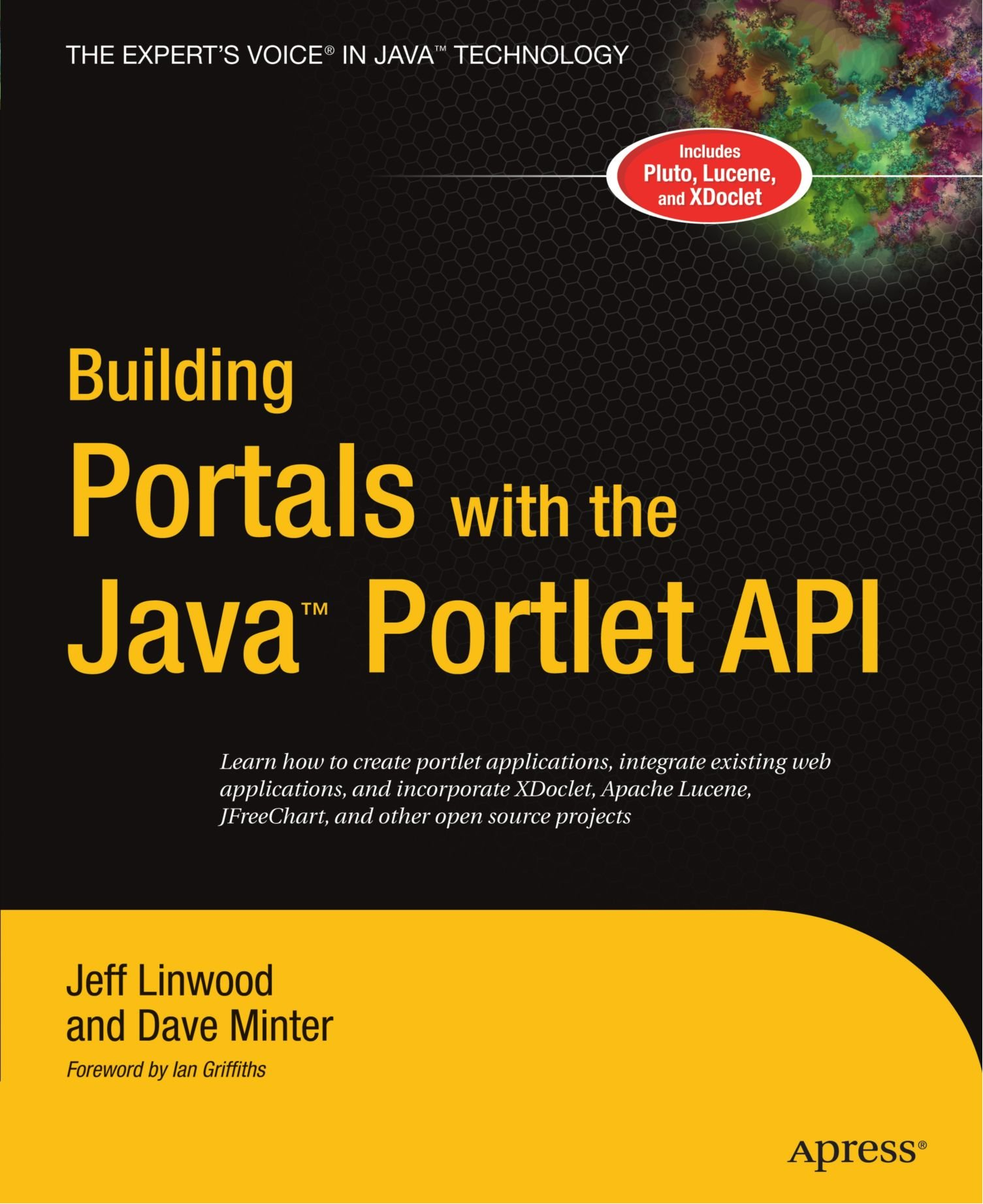 Building Portals with the Java Portlet API (Expert's Voice) free download