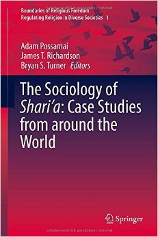 The Sociology of Shari'a: Case Studies from around the World free download