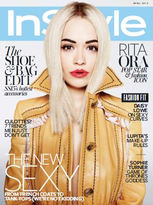 Instyle UK - April 2015 free download