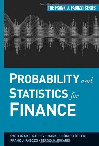 Probability and Statistics for Finance free download