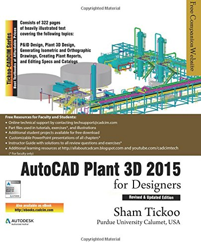 AutoCAD Plant 3D 2015 for Designers free download