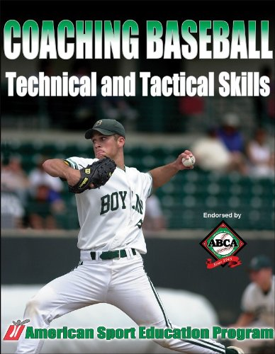 Coaching Baseball Technical and Tactical Skills free download