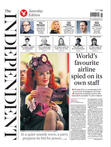 The Independent February 28 2015 free download