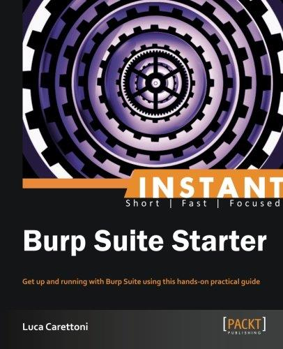 Instant Burp Suite Starter by Luca Carettoni free download