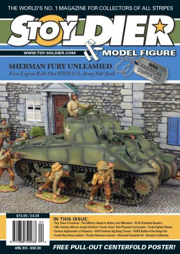 Toy Soldier & Model Figure - Issue 203 (April 2015) free download