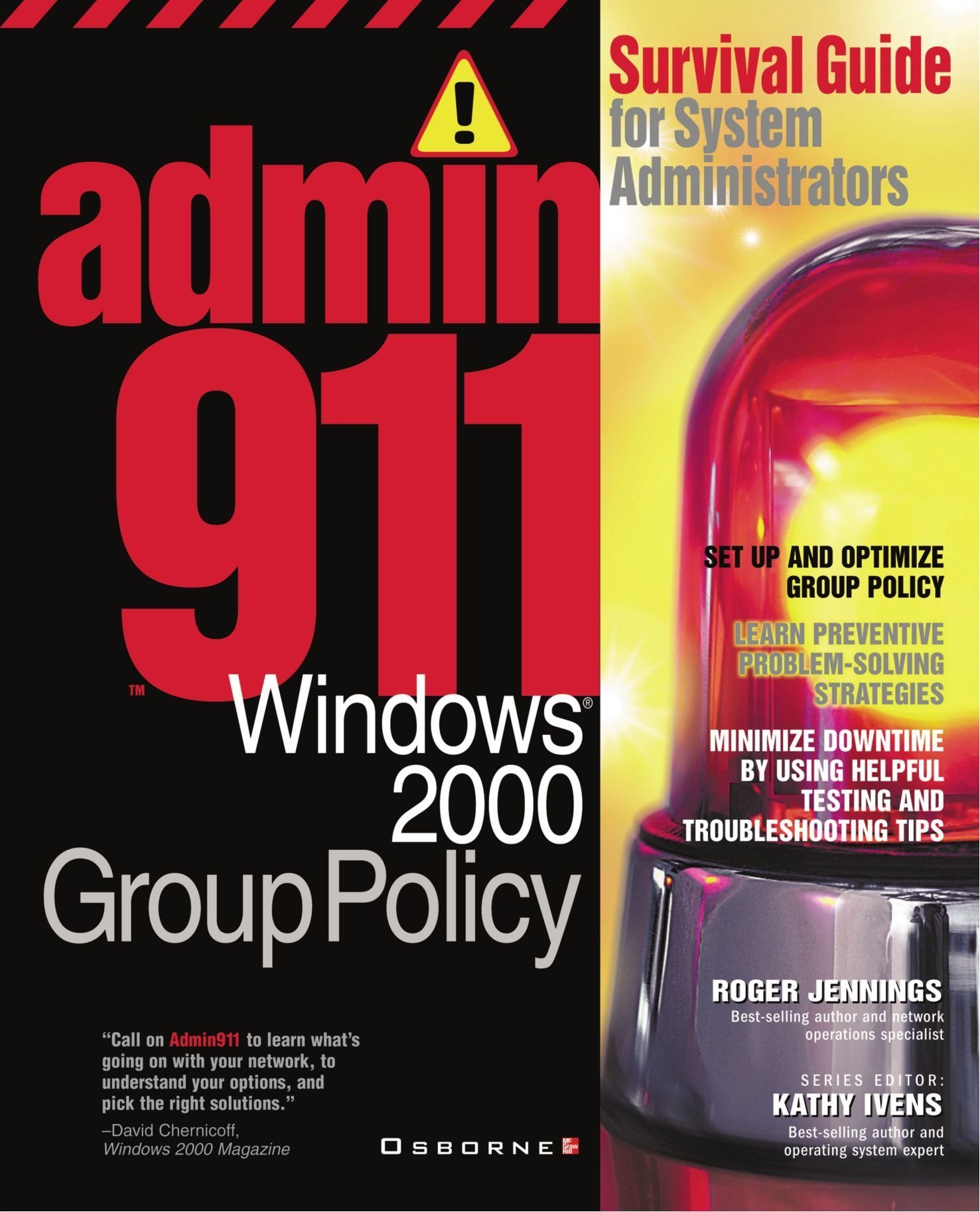 Admin911: Windows 2000 Group Policy free download