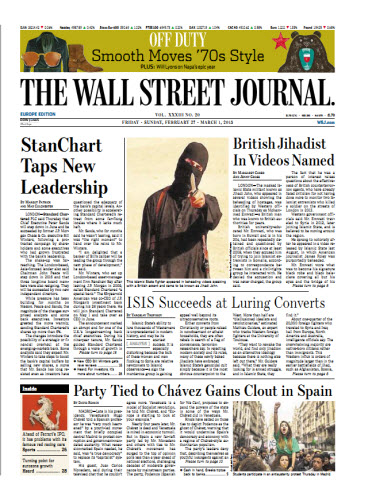 The Wall Street Journal (Europe) February 27 2015 free download