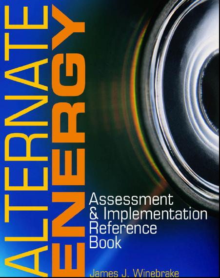 Alternate Energy : Assessment and Implementation Reference Book free download