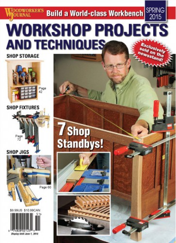 Woodworker's Journal - Spring 2015 free download