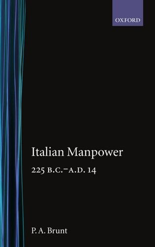 Italian Manpower 225 B.C.-A.D. 14 free download