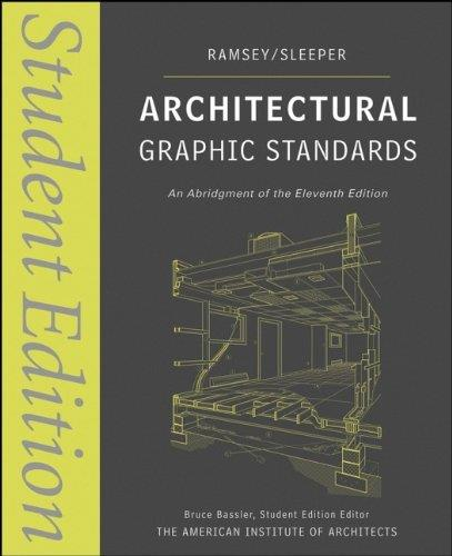 Architectural Graphic Standards, 11th edition free download