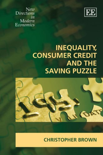 Inequality, Consumer Credit And The Saving Puzzle free download