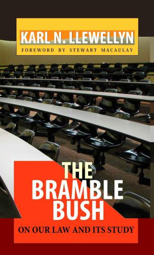 The Bramble Bush: On Our Law and Its Study free download