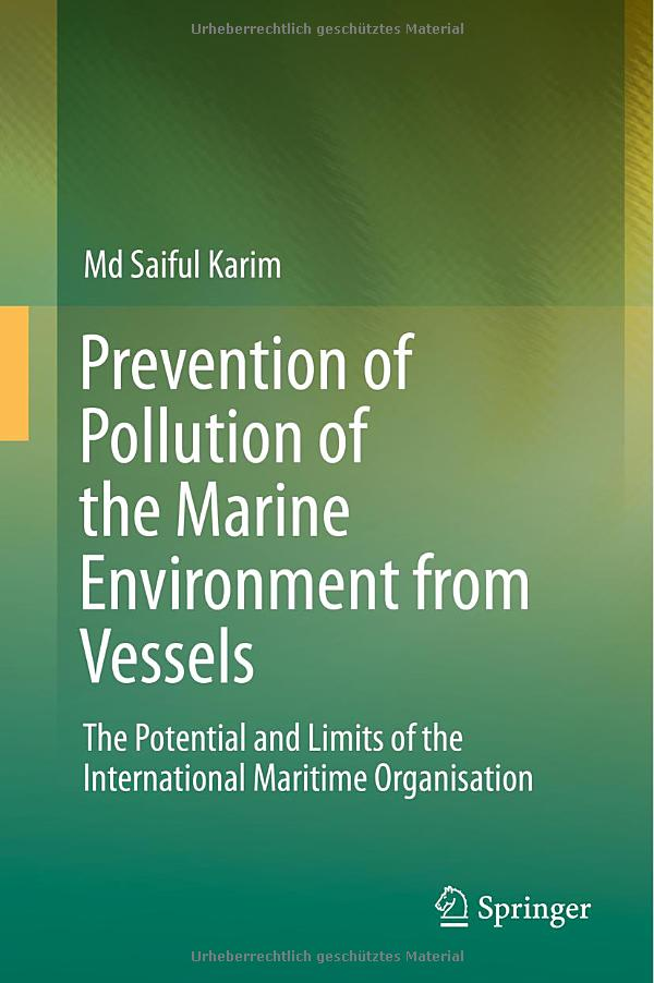 Prevention of Pollution of the Marine Environment from Vessels free download
