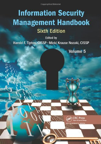 Information Security Management Handbook, Sixth Edition, Volume 5 free download
