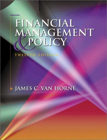 Financial Management and Policy (12th Edition) free download