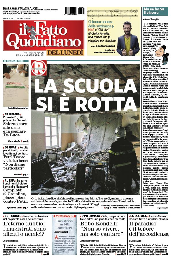 Il Fatto Quotidiano (02-03-15) free download