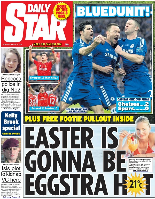 Daily Star - Monday, 2 March 2015 free download