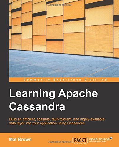 Learning Apache Cassandra free download