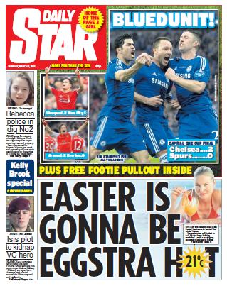 DAILY STAR - 2 Monday, March 2015 free download