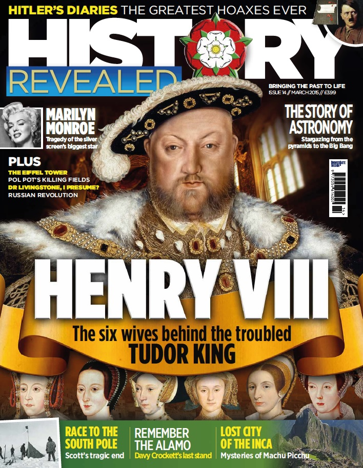 History Revealed - March 2015 free download