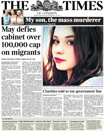 The London Times March 03 2015 free download