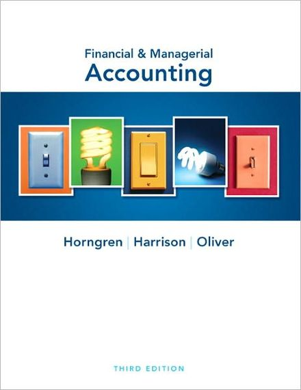 Financial & Managerial Accounting, Third Edition free download