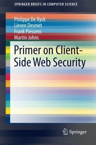 Primer on Client-Side Web Security free download