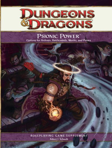 Psionic Power: A 4th Edition D&D Supplement free download