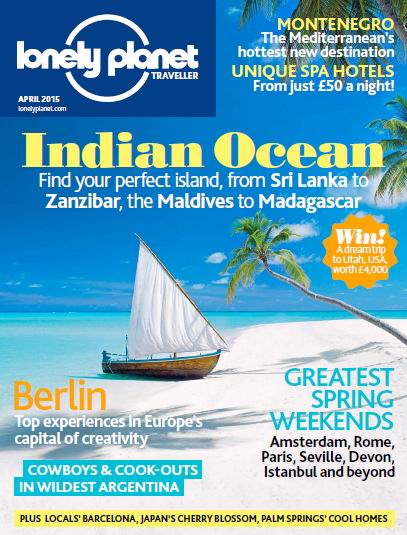 Lonely Planet Traveller Magazine April 2015 free download