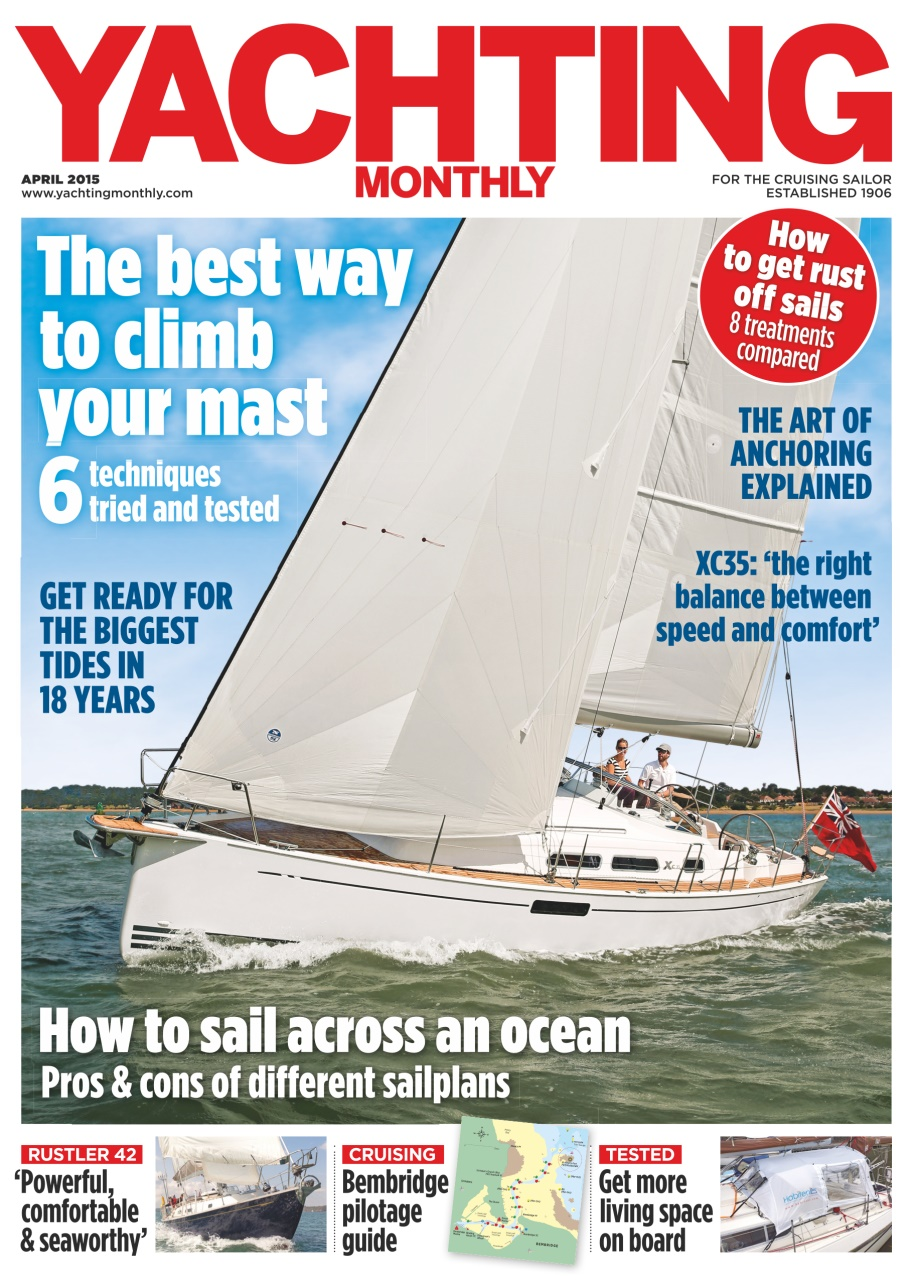 Yachting Monthly - April 2015 free download