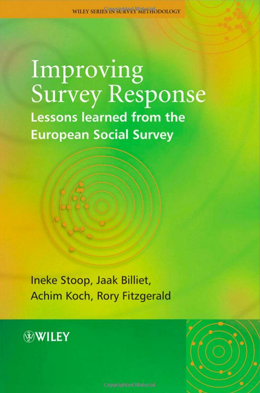 Improving Survey Response: Lessons Learned from the European Social Survey free download