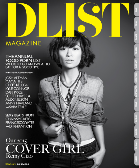 DList Magazine - Spring 2015 (The Sex Issue) free download