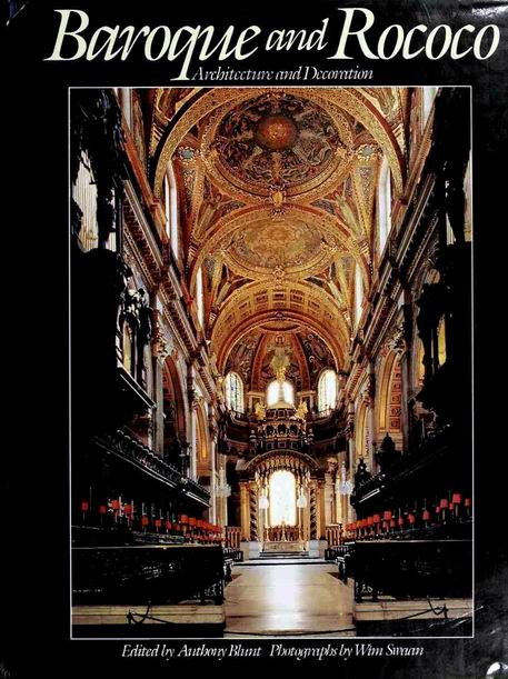 Baroque and Rococo - Architecture and Decoration free download