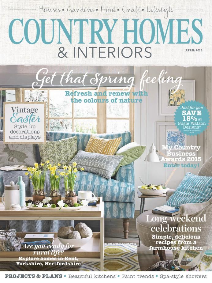 Country Homes & Interiors - April 2015 free download